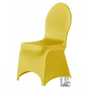 BRILLIANT- potah na židli, Žlutá