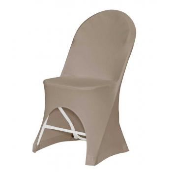 Stretch potah na židli ALEXANDRA, Hnědá