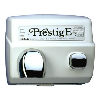 Bazénový fén Prestige SP-88 B, tlačítko, litina, bílý
