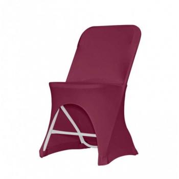 Stretch potah na židli ALEX, Bordó