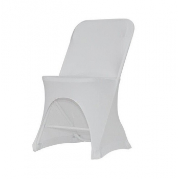 Stretch potah na židli ALEX, Bílá