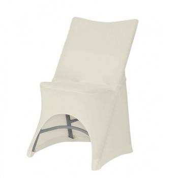 Stretch potah na židli OTTO, Krémová