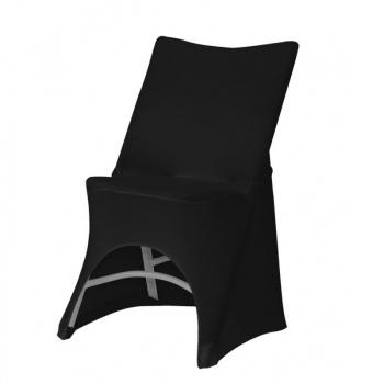 Stretch potah na židli OTTO, Černá