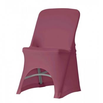 Stretch potah na židli NORMAN, Bordó
