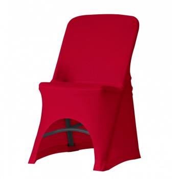 Stretch potah na židli NORMAN, Červená