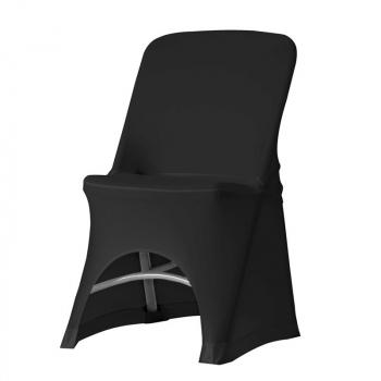 Stretch potah na židli NORMAN, Černá