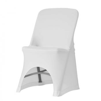 Stretch potah na židli NORMAN, Bílá