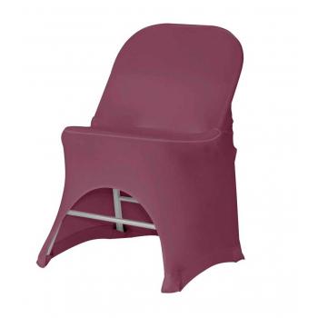 Stretch potah na židli BOSTON, Bordó