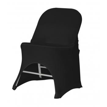 Stretch potah na židli BOSTON, Černá