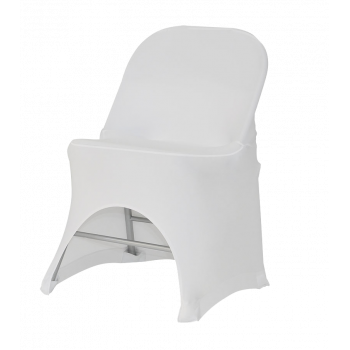 Stretch potah na židli BOSTON, Bílá