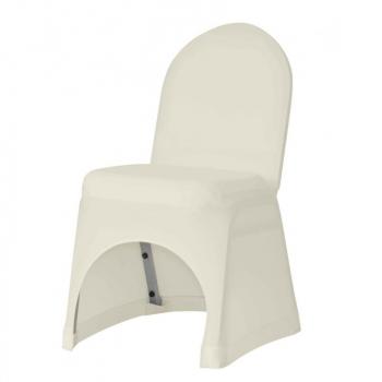 Stretch potah na židli IGOR, Krémová