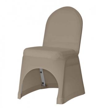 Stretch potah na židli IGOR, Hnědá
