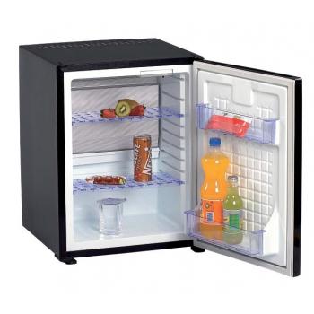 Minibar SM401PLT, 40 l, LED světlo, automatika, černý, vestavný