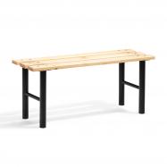 Šatní lavice, 1000 mm, borovicové dřevo