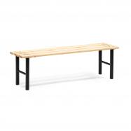 Šatní lavice, 1500 mm, borovicové dřevo