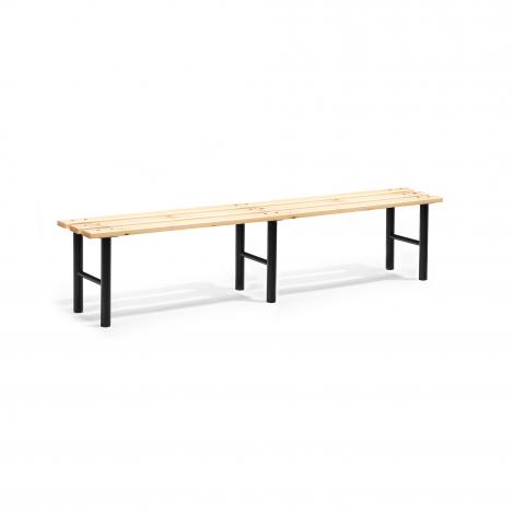 Šatní lavice, 2000 mm, borovicové dřevo