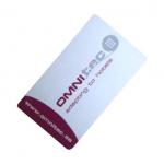 Uživatelská bezdotyková Mifare karta s logem Gaudi. Kartu lze nechat opatřit Vaším vlastním potiskem. (služba je zpoplatněna, cenu si prosím vyžádejte)