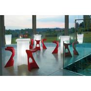 Svítící koktejlový stůl X2