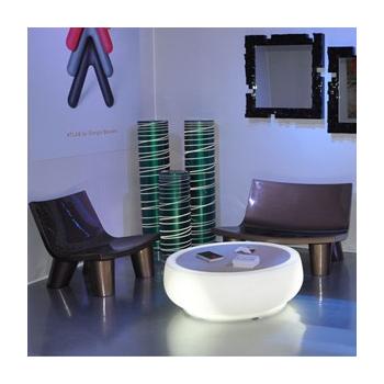 Svítící odkládací stolek CHUBBY SIDE TABLE