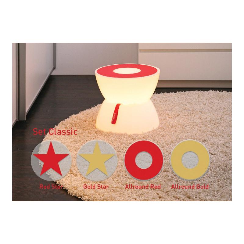 Dekorační set Classic pro stolky Lounge Mini