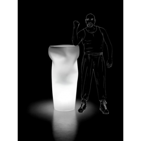 Svítící květináč Saving/Space/Vase Light