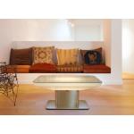 Svítící konferenční stolek Studio 45 - deska stolu 70x100 cm a výška 45 cm. Nabízíme modely na vnitřní i venkovní užití. Osvětlení pomocí úsporné lineární žárovky nebo LED osvětlení. Možno zakoupit i model s LED světlem a baterií.