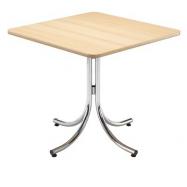 Skládací kavárenský stůl KLIK-KLAK LOW, 80 x 80 cm