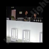 Designový barový pult VELA BAR malý rovný díl
