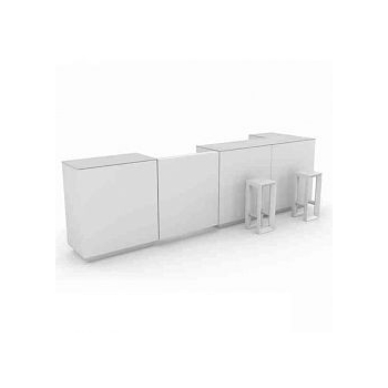 Designový barový pult VELA BAR rohový díl
