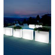 Svítící nábytkový modul KUBE HIGH SLIM