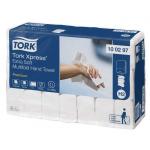 Systém Tork Xpress® papírové ručníky Multifold je vhodný pro prostředí vyžadující jak komfort, tak hygienu - jako jsou restaurace, kanceláře a zdravotnická zařízení. Počet vrstev 2, karton 2100 kusů (21 balíčků po 100 kusech), rozměr ručníku (š x d): 21,2 x 34 cm, váha kartonu: 7,5 kg