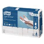 Systém Tork Xpress® papírové ručníky Multifold je vhodný pro prostředí vyžadující jak komfort, tak hygienu - jako jsou restaurace, kanceláře a zdravotnická zařízení. Karton 2310 kusů (21 balíčků po 110 kusech), rozměr ručníku (š x d): 21,2 x 34 cm, váha kartonu: 6,97 kg