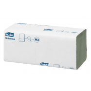 Tork papírové ručníky ZZ 4000 ks, 24,8 x 23 cm, 20 bal., Universal zelené