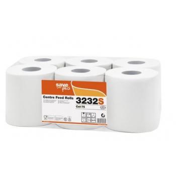 Papírové ručníky v roli CELTEX S-Plus se středovým odvíjením
