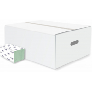 Skládané papírové ručníky Harmony Professional ZZ, rec., 20x200 ks, zelené