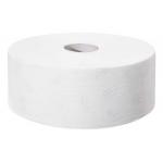 Systém Tork Jumbo (T1) je vhodný pro vysoce frekventovaná místa. Systém T1 - Systém toal. papíru Jumbo, , Počet vrstev: 2, Barva: Bílá , Ražba: ANO, Délka role: 360.0 m, Počet útržků: 1800, Průměr role: 26.0 cm, Vnitřní průměr jádra: 5.9 cm