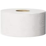 Systém Tork Mini Jumbo (T2) je nejvhodnější pro toalety a umývárny se střední až vysokou frekvencí náštěvnosti. Systém T2 - Systém toal. papíru Mini Jumbo, Počet vrstev: 2, Barva: Bílá, Potisk: ANO, Ražba: ANO, Délka role: 170.0 m, Počet útržků: 1214, Průměr role: 18.8 cm, Vnitřní průměr jádra: 5.9 cm