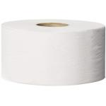 Systém Tork Mini Jumbo (T2) je nejvhodnější pro toalety a umývárny se střední až vysokou frekvencí náštěvnosti. Systém T2 - Systém toal. papíru Mini Jumbo,Počet vrstev: 1, Barva: Bílá, Délka role: 240.0 m, Počet útržků: 1714, Průměr role: 18.8 cm, Vnitřní průměr jádra: 5.9 cm