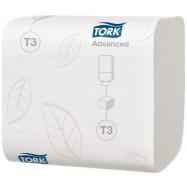 Tork toaletní papír T3 8712 ks, 2-vrstvý, 11 x 19 cm, 36 bal.,  Folded bílý