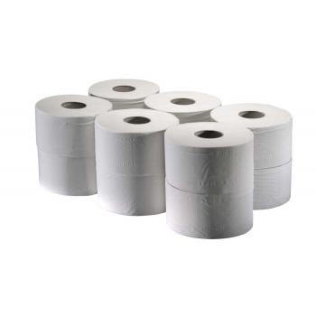 Toaletní papír Tork Advanced T2 v Mini Jumbo roli, návin 170 m, 12 rolí