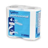 Toaletní papír v konvenčních rolích CELTEX Professional Compact