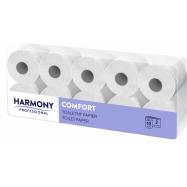 Toaletní papír Harmony Professional 2vr., bílý recykl 72%, 80x24 m