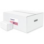 Skládaný toaletní papír Harmony Professional,materiál: celulóza, počet vrstev: 2, počet balení v kartonu: 40, počet útržků v balení: 250, počet útržků v kartonu: 10000.