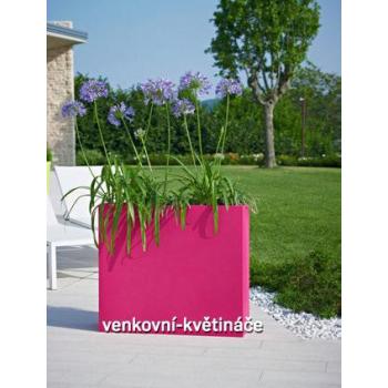 Venkovní květináč KUBE HIGH SLIM