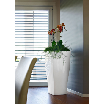 Venkovní květináč QUADRUM LACCATI - lakovaný