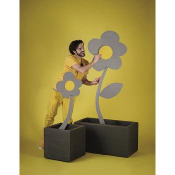 Venkovní květináč QUADRA II