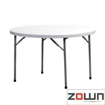 Rautový skládací stůl ZOWN Planet 120 - ø122 cm