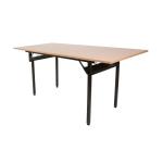 Banketový stůl H-500, 122 x 80 cm je klasický, obdelníkový stůl.