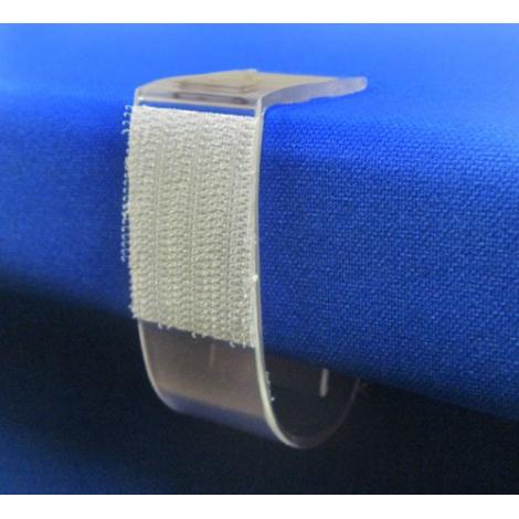 Univerzální rautové spony pro desky s tloušťkou 32 - 65 mm, 25ks