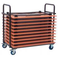 Transportní vozík pro skládací stoly